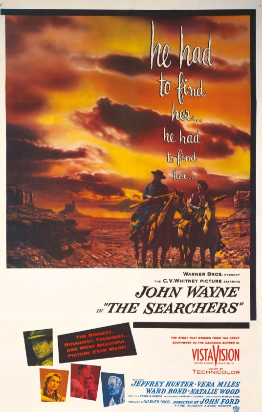 The Searchers - poster
