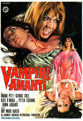 The Vampire Lovers - poster