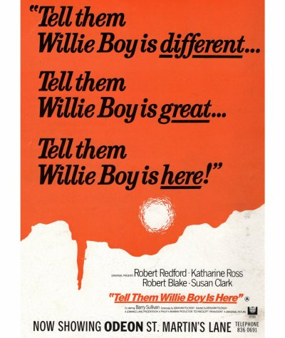 Willie Boy Poster 4