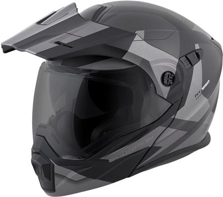 small shell motorcycle helmets ScorpionEXO Adult ModularFlip Up Adventure Touring Motorcycle Helmet