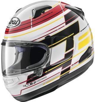 Arai Signet X Helmet Striker White