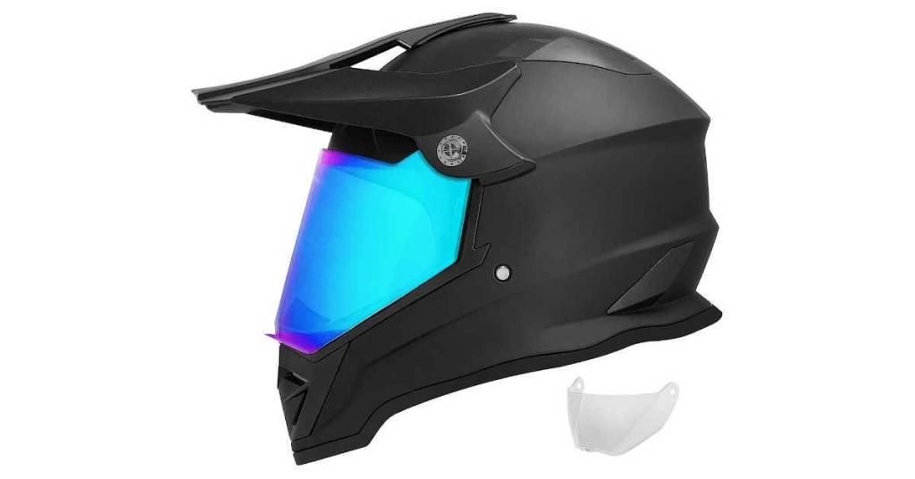 GDM DK-650 Dual Sport Motorcycle Helmet Review Photo