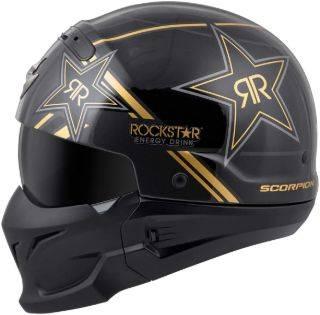 Scorpion EXO Covert pillion Helmet