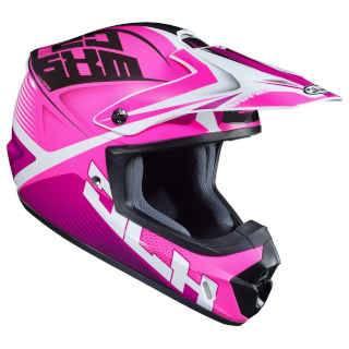 HJC Helmets CS-MX 2 Helmet - Ellusion Pink White