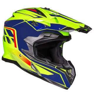 ILM Adult ATV Motocross Off-Road Street Dirt Bike Full Face Motorcycle Helmet