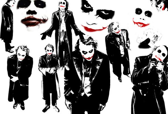Обои джокер, Joker, the dark knight, темный рыцарь на ...