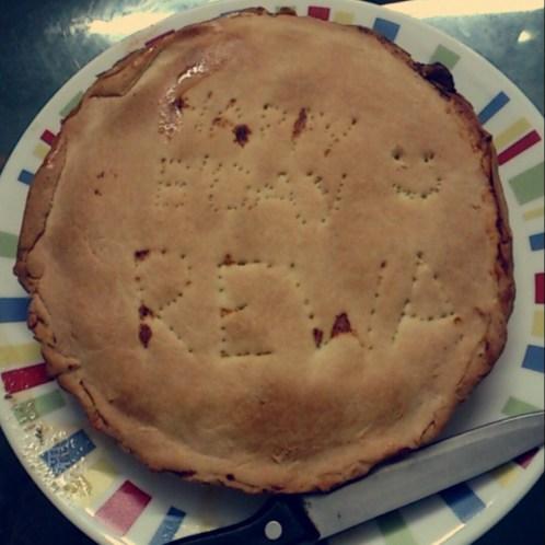 Mom's Special Chicken Pie