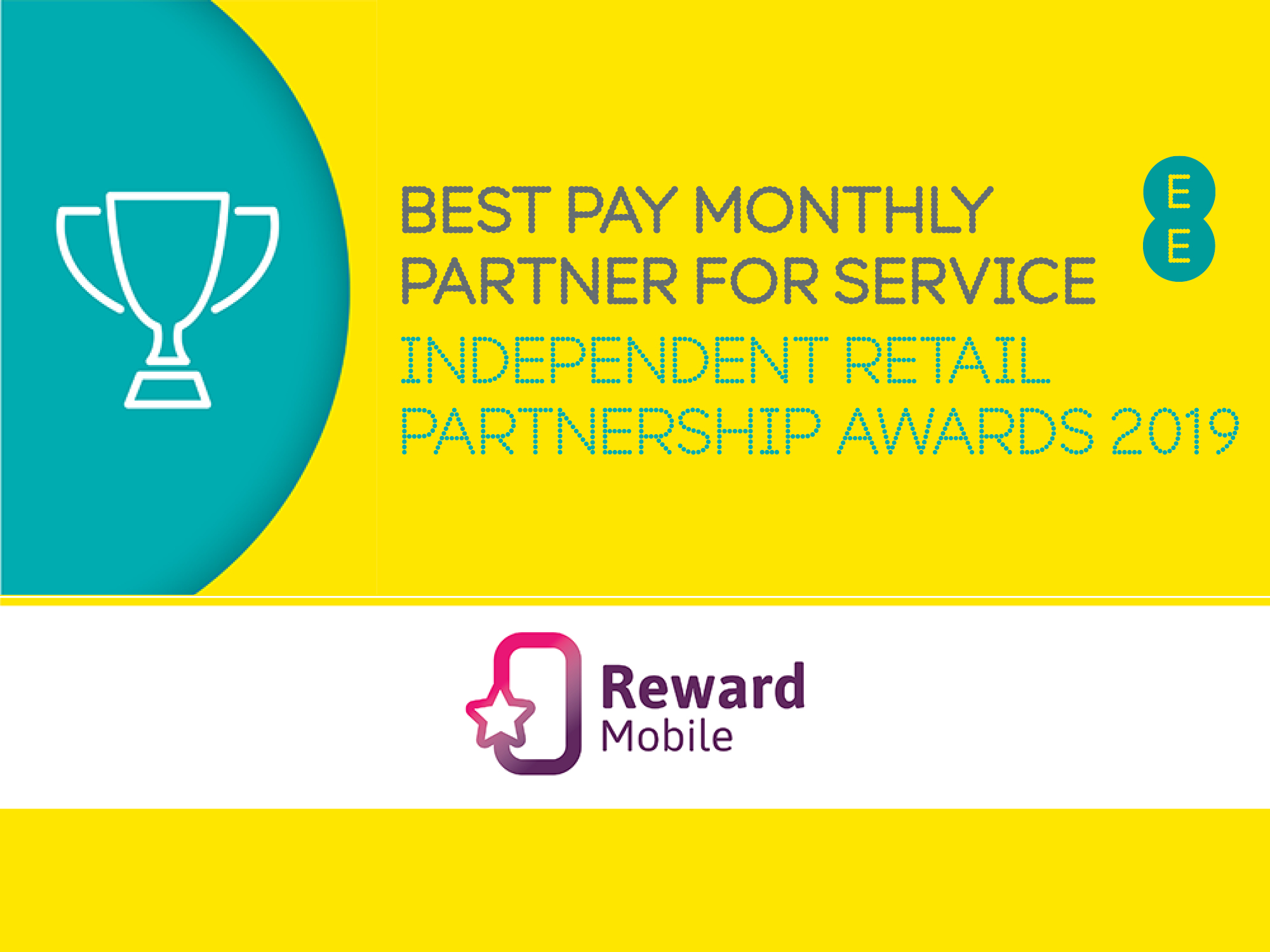 EE, Award, Best Pay Monthly Partner