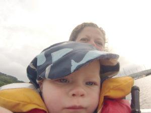 Heading ashore