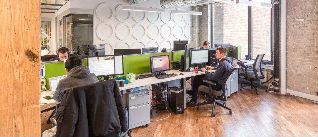 Startup Slang Office Shot