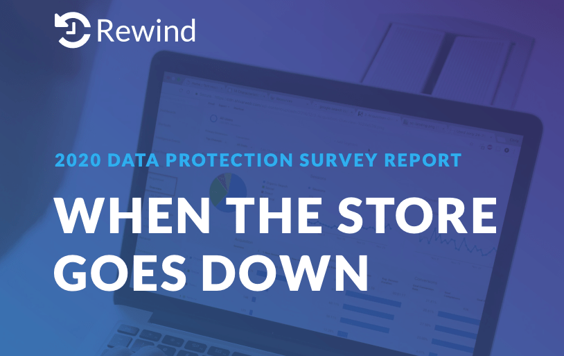 New Report Shows Ecommerce Merchants Gravely Underestimate Risks of Losing Store Data