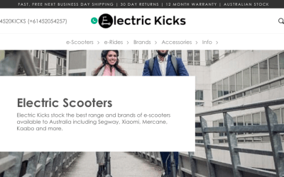 Electric Scooter Store Using Backups in Daily Operations