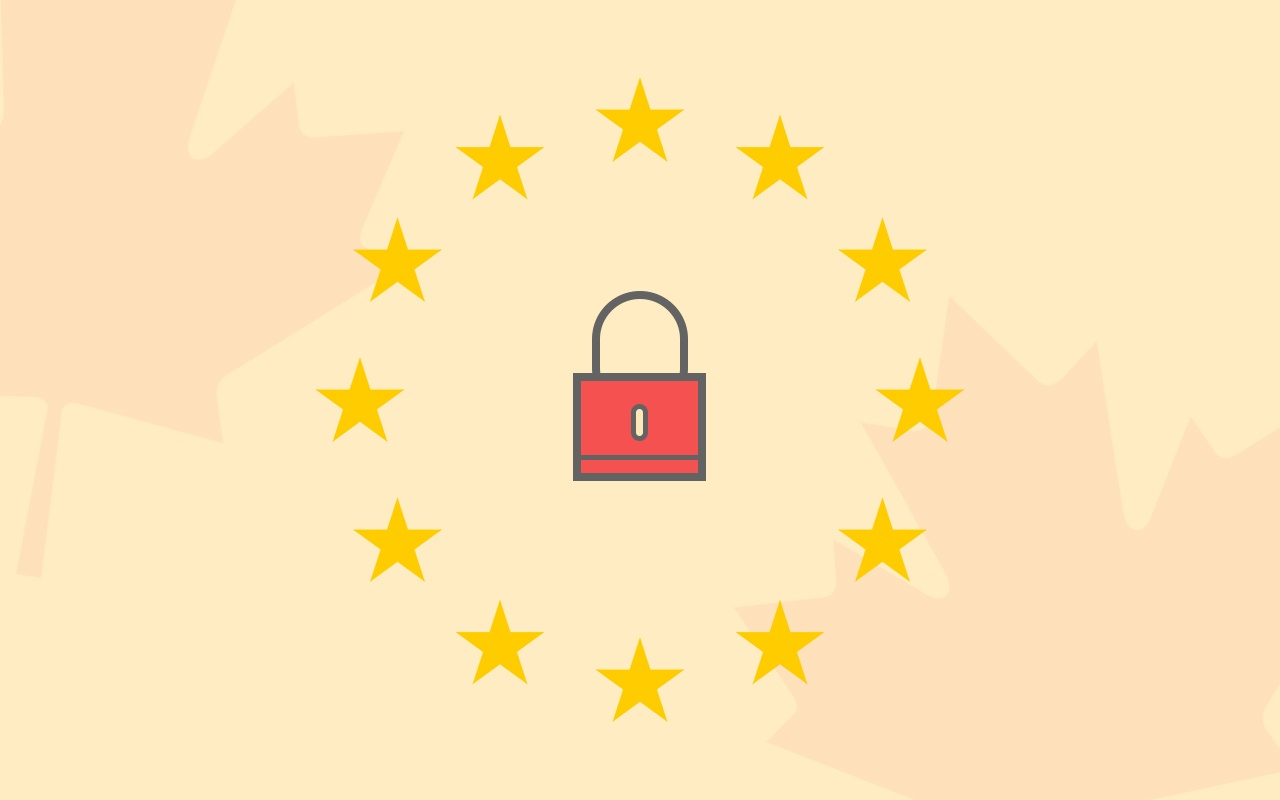 EU GDPR and Canadian ecommerce.