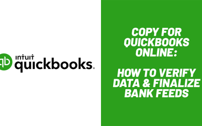 How to Verify Data in a new QuickBooks Online File