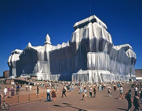Christo + Jeanne Claude - Wrapped Reichstag
