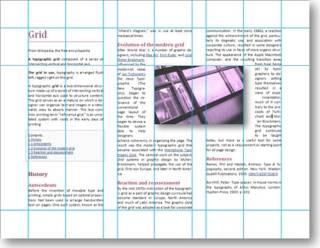 multicolumn layout