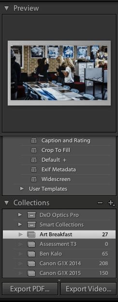 Print preview + templates