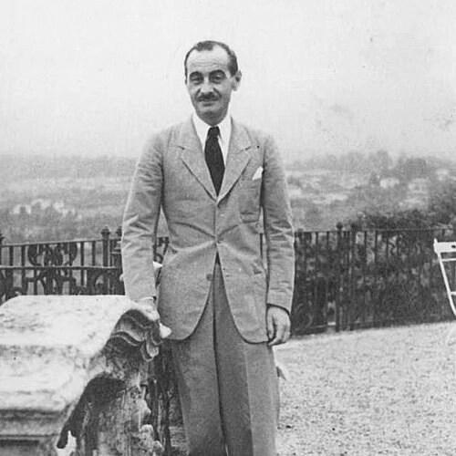 portrait of Corrado Corradi Dell'Acqua