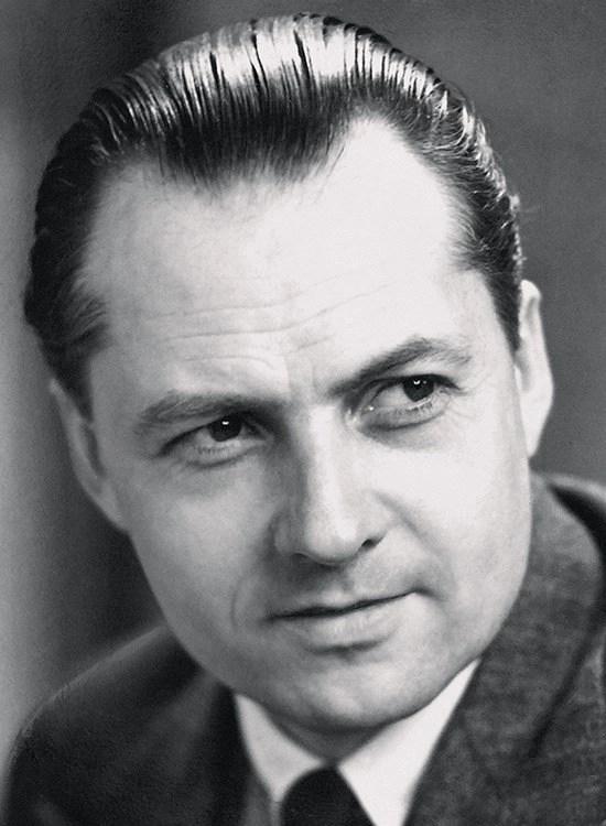 portrait of Vilhelm Lauritzen