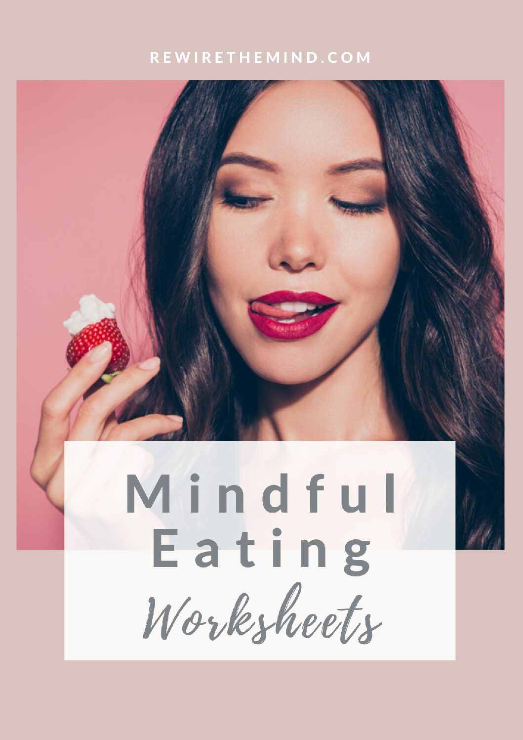 Mindful Eating Worksheets