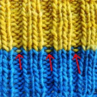 How to change Color in Ribbing
