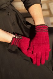 Rio Gloves in Drachenwolle Merino extrafine: Short cuff version