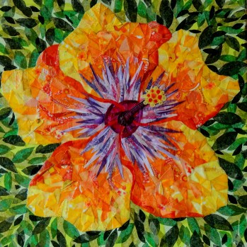 """""""Climax Hibiscus"""" by Ruth Warren,"""