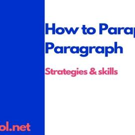 how to paraphrase a paragraph and sentence