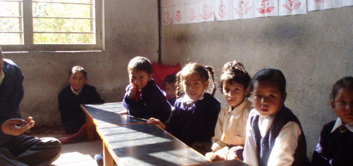 Nepalese school children