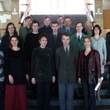 Колектив кафедри, 2002 р.
