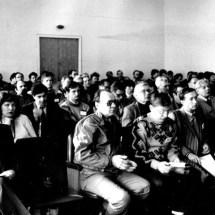 Викладачі та співробітники кафедри на V Міжнародній конференції з електронної спектроскопії, 1993 р.