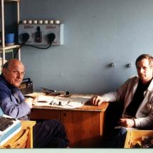 Ю. Нечипорук, Ю. Гайдай, лабораторія функціональної магнітної електроніки, 1997 р.