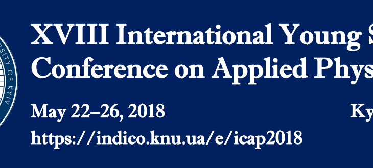 XVIII International Young Scientists' Conference on Applied Physics