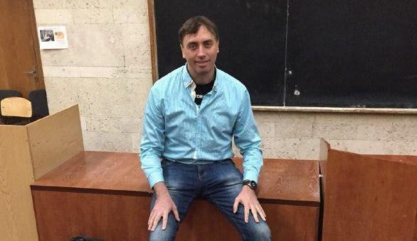 Лекція Олексія Мася на факультеті РЕКС