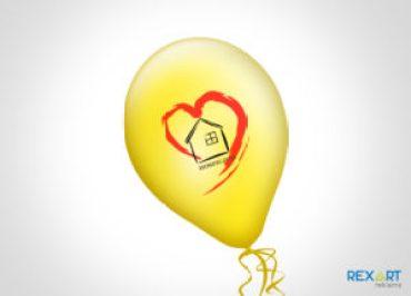 balony z nadrukiem
