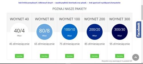 tabele strona internetowa