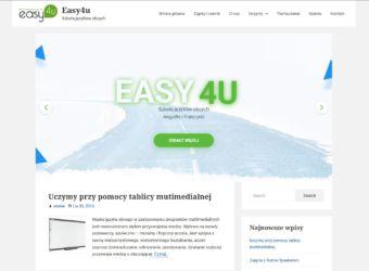 strona internetowa Easy 4u