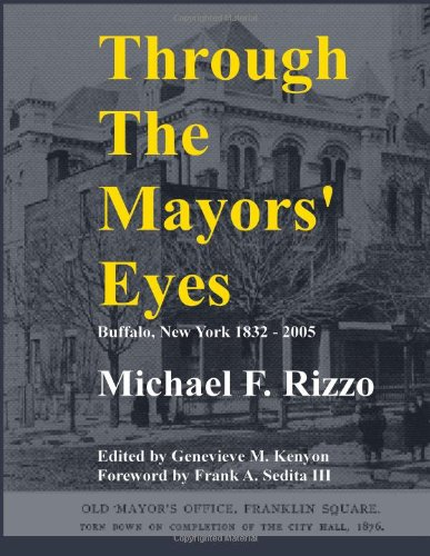 Cover of Through The Mayors' Eyes book cover