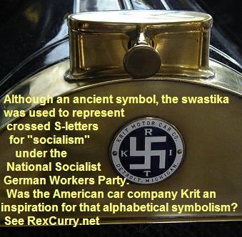Krit Motor Car Company Detroit Swastika