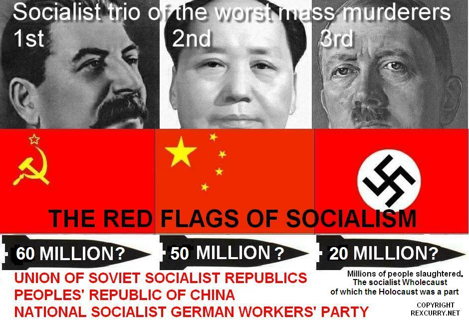 Stalin, Mao, Hitler