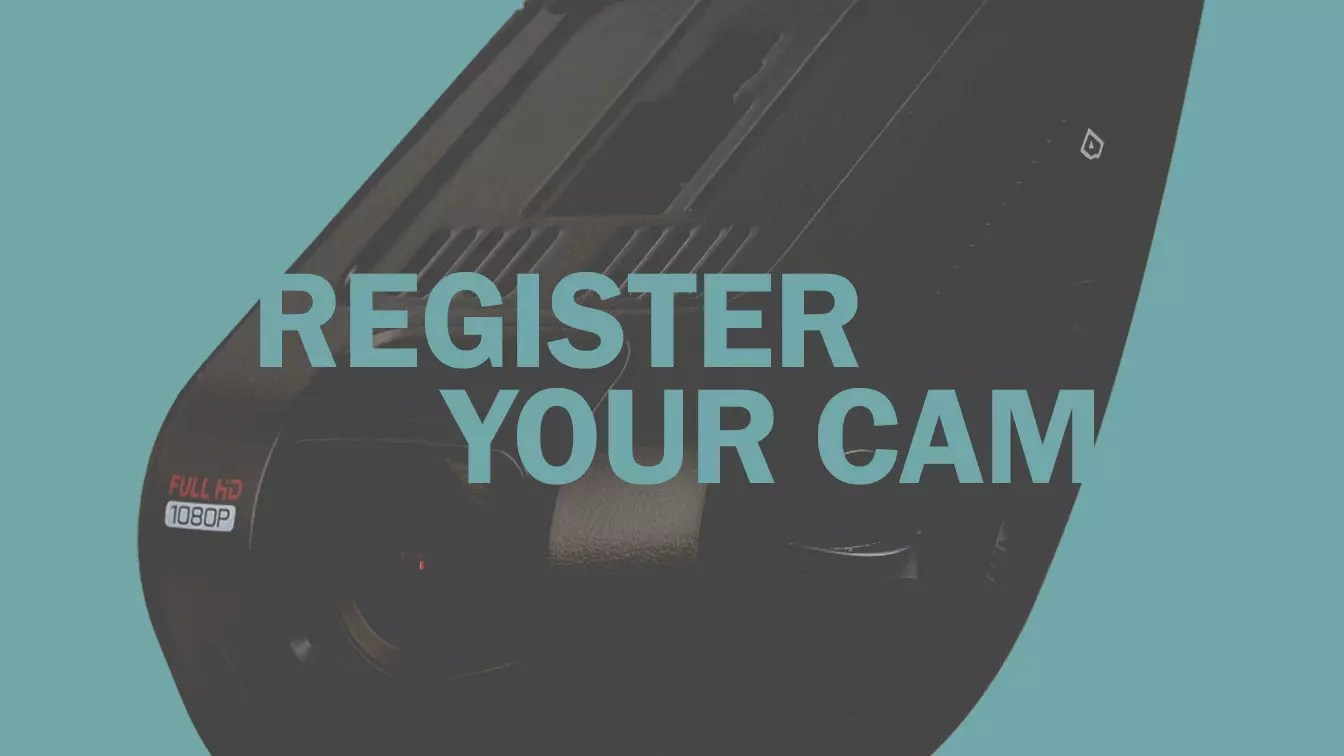 Dash Cam Registration for Rexing USA