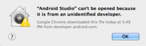Android Studio Cant Be Opened