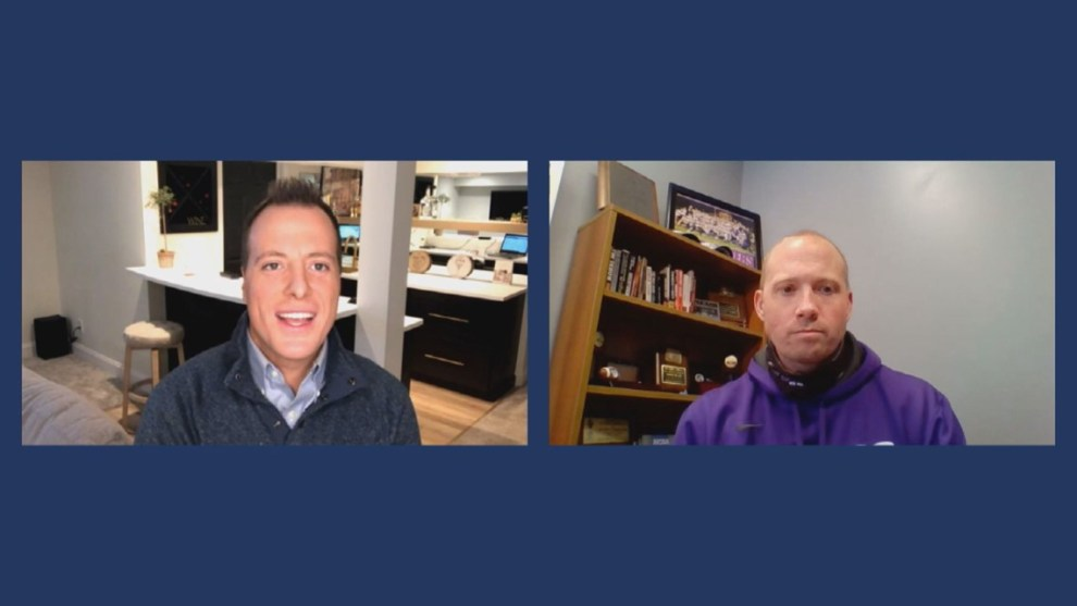 Mount Union Purple Raiders football coach Geoff Dart goes one-on-one with 3News Sports Anchor Nick Camino, talk upcoming spring season