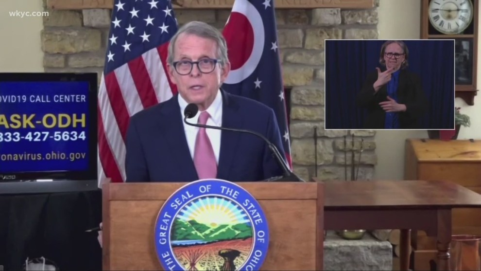Ohio Gov. Mike DeWine to hold COVID-19 and vaccination briefing
