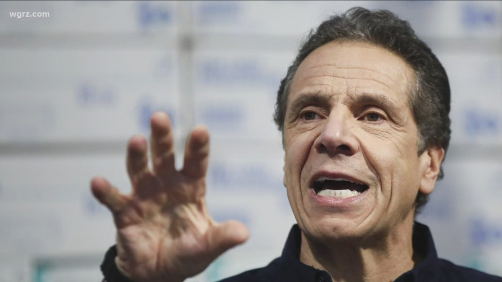 Top New York state Democrats withdraw support for Gov. Andrew Cuomo, who says he won