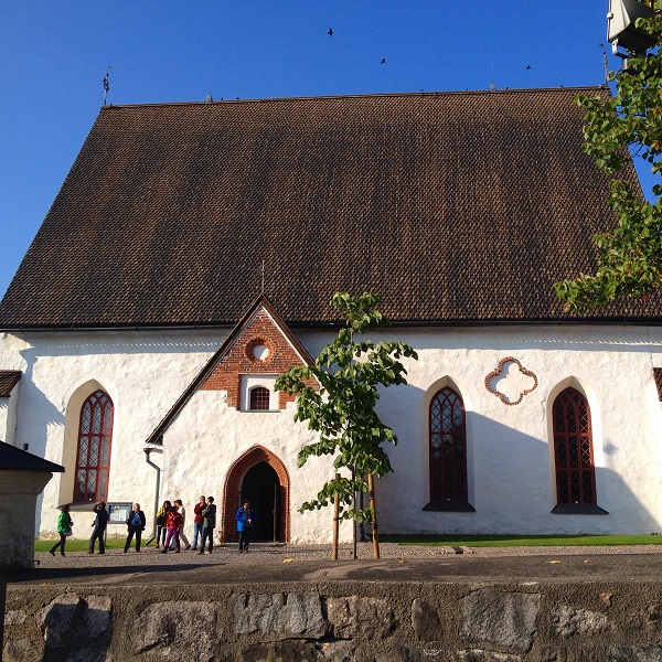 15. The cute Porvoo Cathedral that keeps getting burnt down!