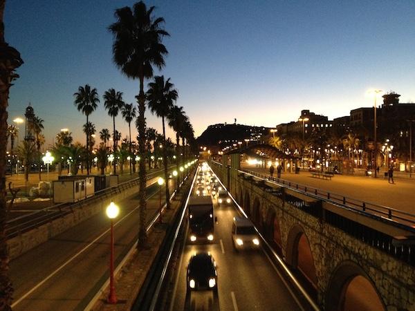 Barcelona in Winter