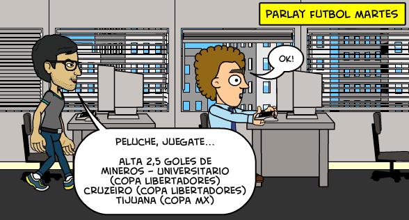 3-3-2015 | Parlay fútbol Copa Libertadores + Copa MX
