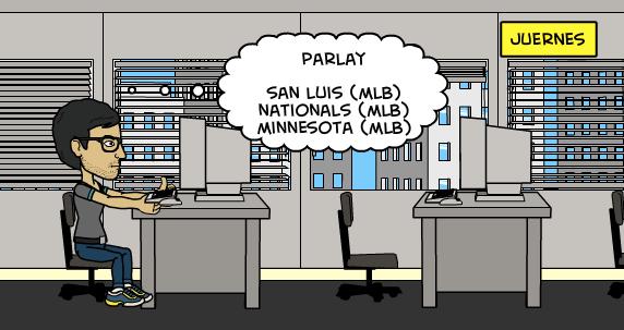 30-7-2015   Parlay MLB