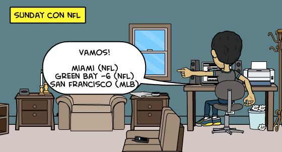 13-9-2015 | Parlay gratis Sunday MLB + NFL